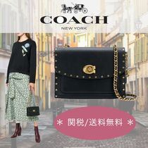 Coach 2WAY Leather Elegant Style Handbags