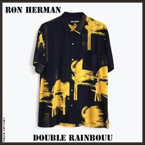 Ron Herman Tropical Patterns Unisex Short Sleeves Shirts