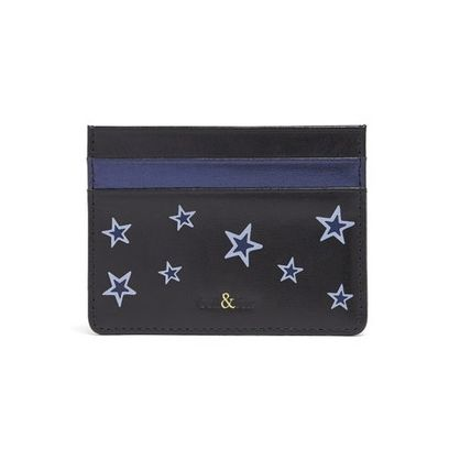 Star Leather Card Holders