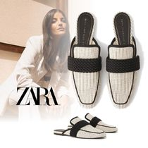 ZARA Casual Style Mules Sandals Sandal