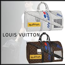 Louis Vuitton MONOGRAM 19-20AW KEEPALL BANDOULIÈRE 50 bron maron free bag