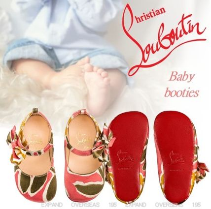 detailing various design great deals Shop Christian Louboutin 2019-20AW Street Style Handmade Baby Girl ...