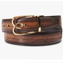 Berluti Leather Handmade Belts