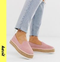 ASOS Platform Casual Style Suede Lace-Up Shoes