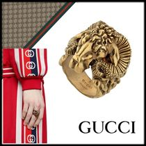 GUCCI Unisex Other Animal Patterns Metal Rings