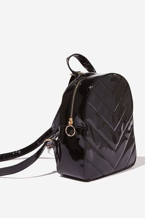 Casual Style Bi-color Backpacks