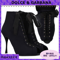 Dolce & Gabbana Open Toe Ankle & Booties Boots