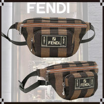 FENDI Calfskin 2WAY Messenger & Shoulder Bags