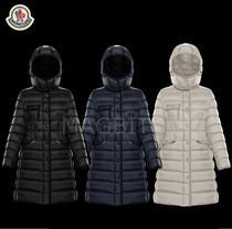 MONCLER HERMINE Street Style Plain Medium Down Jackets