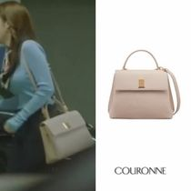 COURONNE Leather Office Style Totes