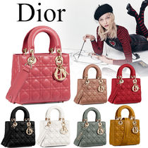 Christian Dior 2WAY Plain Shoulder Bags