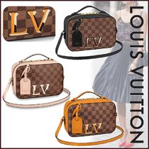 Louis Vuitton DAMIER Other Check Patterns Canvas Blended Fabrics 2WAY Bi-color