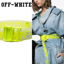 Off-White Casual Style Belts