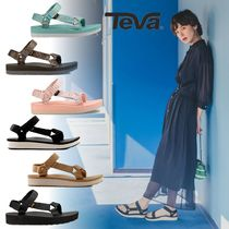 Teva Casual Style Footbed Sandals Flat Sandals