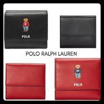 POLO RALPH LAUREN Other Animal Patterns Leather Folding Wallets