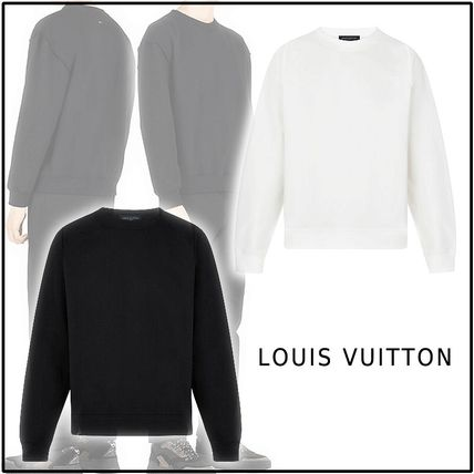 Louis Vuitton Sweatshirts 2019-20AW LOUIS VUITTON STAPLES EDITION INSIDE OUT CREWNECK