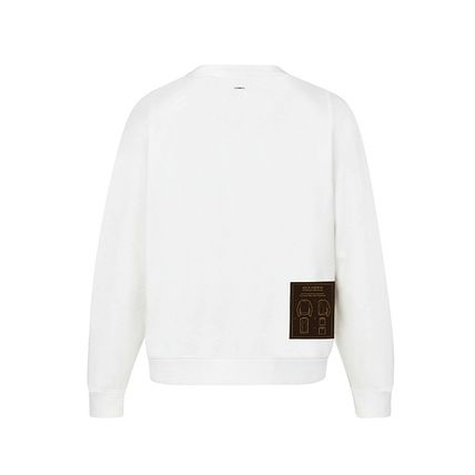Louis Vuitton Sweatshirts 2019-20AW LOUIS VUITTON STAPLES EDITION INSIDE OUT CREWNECK 6