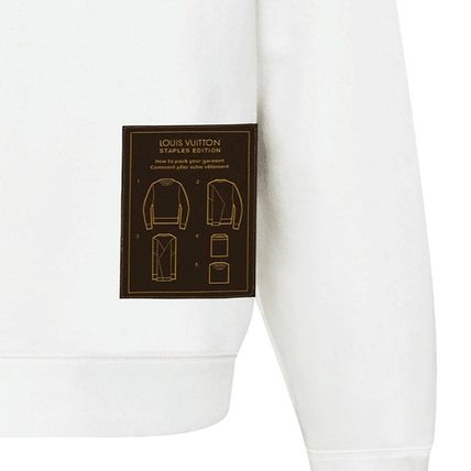 Louis Vuitton Sweatshirts 2019-20AW LOUIS VUITTON STAPLES EDITION INSIDE OUT CREWNECK 7