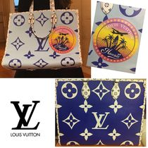 Louis Vuitton MONOGRAM Monogram A4 2WAY Leather Totes