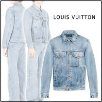 Louis Vuitton 2019-20AW LOUIS VUITTON STAPLES EDITION DNA DENIM JACKET
