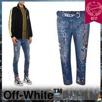 Off-White Street Style Cotton Jeans & Denim