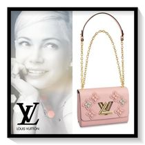 Louis Vuitton Flower Patterns Casual Style Blended Fabrics 2WAY Chain