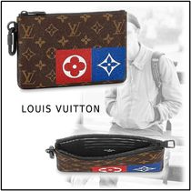 Louis Vuitton 2019-20AW ZIPPED POUCH MM monogram one size bag