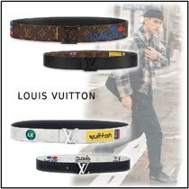 Louis Vuitton 2019-20AW LV INITIALES 40MM BELT brown bron 85-110 belt