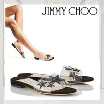 Jimmy Choo Star Open Toe Casual Style Street Style PVC Clothing