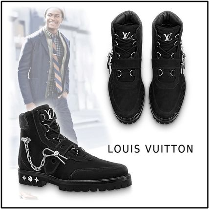 Louis Vuitton More Boots 2019-20AW LV CREEPER ANKLE BOOT
