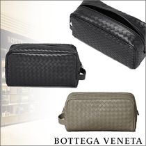BOTTEGA VENETA Calfskin Clutches