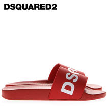 D SQUARED2 Street Style Plain Shower Shoes Shower Sandals