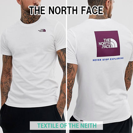 c93481df031 ... THE NORTH FACE Crew Neck Crew Neck Street Style Cotton Short Sleeves ...