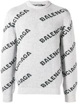 BALENCIAGA Crew Neck Street Style Knits & Sweaters
