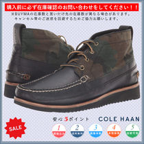 Cole Haan Camouflage Chukkas Boots