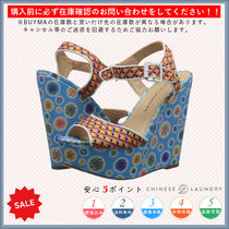 CHINESE LAUNDRY Open Toe Casual Style Platform & Wedge Sandals