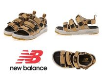 New Balance Unisex Street Style Plain Sandals