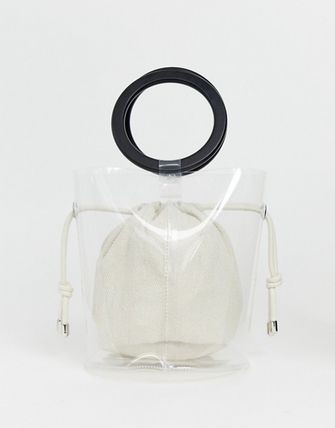 Blended Fabrics Bag in Bag Plain Crystal Clear Bags