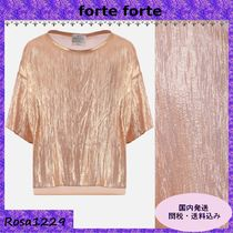 forte forte Cropped Cotton Shirts & Blouses