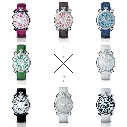Casual Style Street Style Round Quartz Watches Stainless