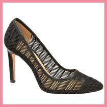 Lipsy Plain Leather Pin Heels Party Style