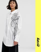 ASOS Flower Patterns Casual Style Shirts & Blouses
