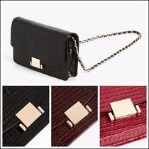 Uterque Chain Other Animal Patterns Leather Elegant Style