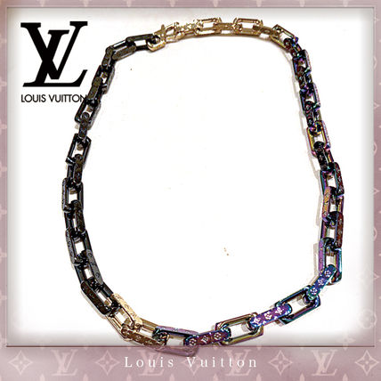 Street Style Chain Silver Necklaces & Chokers