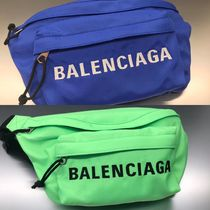 BALENCIAGA EVERYDAY TOTE Unisex Street Style Plain Hip Packs