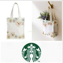 STARBUCKS Casual Style Collaboration Totes