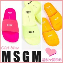 MSGM Casual Style Street Style Sandals