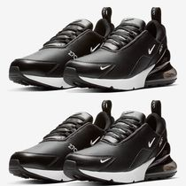 Nike AIR MAX 270 Unisex Blended Fabrics Street Style Logo Sneakers