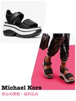 Michael Kors Rubber Sole Casual Style Unisex Street Style Plain