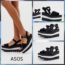 ASOS Open Toe Platform & Wedge Sandals